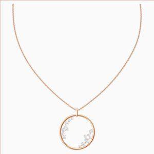 Swarovski North Pendant, Rose-gold